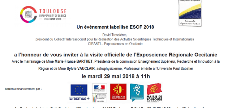 Visite Officielle – Exposcience Occitanie