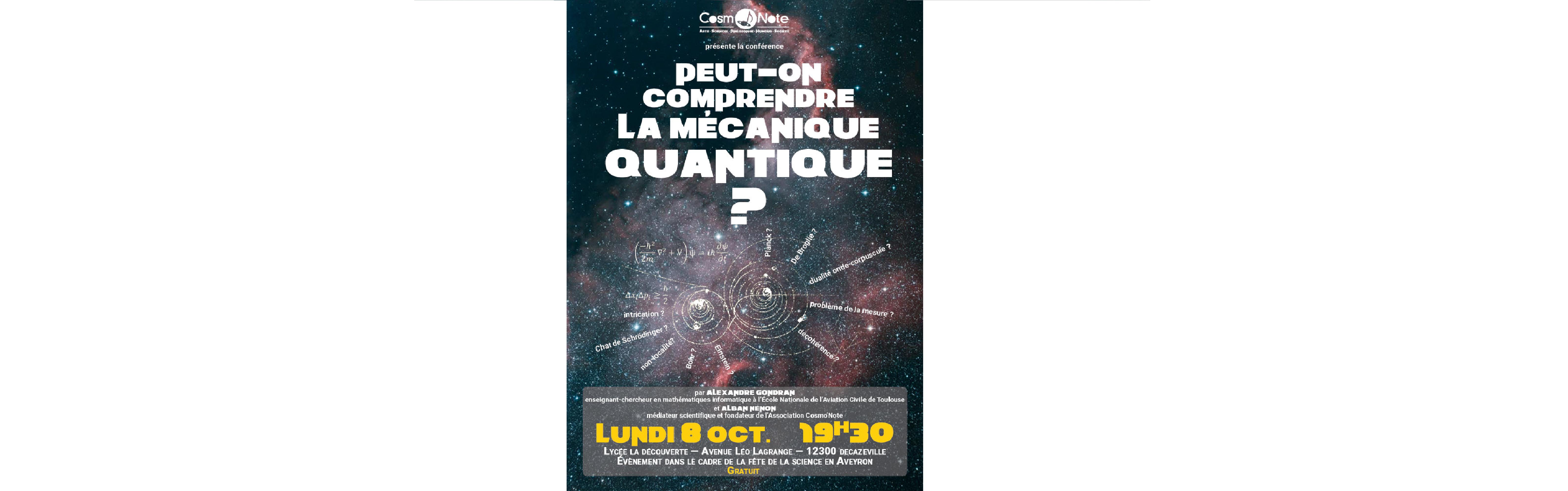 Journée Relais Exposcience - Conférence Cosmo\'Note
