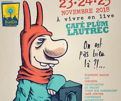 10ans Radio Francas et Relais Exposcience – 25/11 à Lautrec (81)