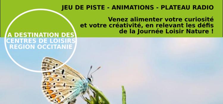 Inscriptions Journée du Loisir Nature – 24/10